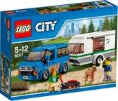 LEGO City Busje & caravan - 60117