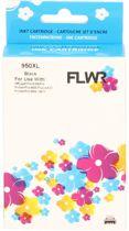 FLWR - Inktcartridge / 950XL zwart - Geschikt voor HP