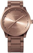 LEFF Amsterdam Tube Watch S38 - LT71104 - Rose Gold - Staal - Rosé - Ø 38mm