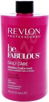 MULTI BUNDEL 2 stuks Revlon Be Fabulous Daily Care Normal Cream Conditioner 750ml