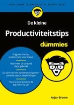 Voor Dummies - De kleine Productiviteitstips voor Dummies
