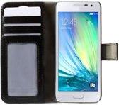 Leren Samsung Galaxy S4 Wallet Case, Stijlvolle Telefoonhoes, zwart