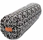 #DoYourYoga - Rond Yoga bolster - »Krishna« - Meditatiekussen met bio-organische spelt vulling - L68cm & diam. 22cm. - Style (7)
