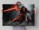 STAR WARS EPISODE VII THE FORCE AWAKENS Kylo Ren  - Poster 91.5 x 61 cm