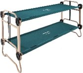 Disc-O-Bed L, veldbed, campingbed, stretcher, kampeerbed, logeerbed, stapelbed