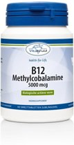 Vitakruid B12 Methylcobalamine 5000 mcg 60 smelttabletten