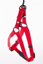 Martin sellier instap tuig voor hond nylon rood 20 mmx50-70 cm