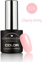 Cosmetics Zone UV/LED Hybrid Gel Nagellak 7ml. Sleeping Bunny 326