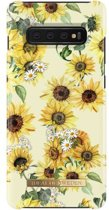 iDeal of Sweden Samsung Galaxy S10 Plus Fashion Hoesje Sunflower