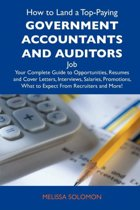 How to Land a Top-Paying Government Accountants and Auditors Job