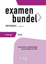 Examenbundel vmbo-gt Duits 2015/2016