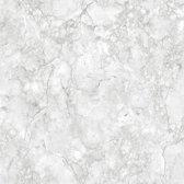 Dutch Wallcoverings schuimvinyl marmer - grijs