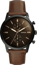 Fossil Zwart Mannen Horloge FS5437