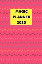 Magic Planner 2020: 2020 - 2021 Weekly Planner And Organizer, With To Do List, Makes Great Productivity Gift For Busy Professionals, And B