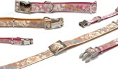 Beeztees Hula - Hondenhalsband - Roze - XS - 20-30 cm x 10 mm