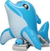 Opblaasbare Dolfijn Water Sproeier met Tuinslang voor Kinderen – 23x20x34cm