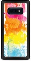 Galaxy S10e Hardcase hoesje Color Splatters