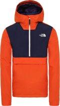 The North Face Waterproof Fanorak Heren Outdoor Jas - Papaya Orange - Maat XL