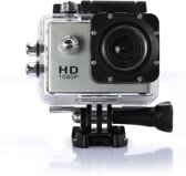 Action camera full HD 1080p waterdicht grijs
