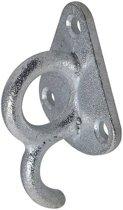 Proplus Touwhaak Metaal Met Oog 70x40mm Zilver