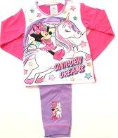 Disney Minnie Mouse - meets Unicorn - Kinder /Peuter Kleuter  - pyjama - Unicorn Dreams - maat 104/110