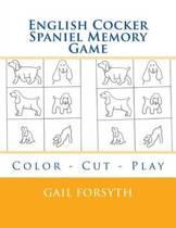 English Cocker Spaniel Memory Game