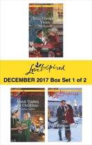 Harlequin Love Inspired December 2017 - Box Set 1 of 2