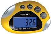 Toorx Stappenteller - Multifunctioneel - Professioneel inzetbaar - met LCD scherm