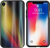 BackCover Aurora Glass voor Apple iPhone X/XS Geel