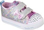 Skechers Shuffle Lite Mini Mermaid Meisjes Sneakers - Silver - Maat 26