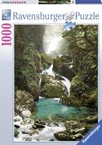 Ravensburger puzzel Mackay Falls, Nieuw-Zeeland 1000 stukjes