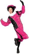 Piet velours roze/zwart (mt M)