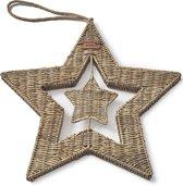 Riviera Maison - Rustic Rattan Magical Star - Decoratief beeld