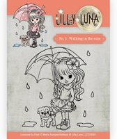 Stempel -Lilly Luna - No.1 Walking in the Rain