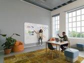 Smit Visual Chameleon VisuWall Whiteboard – Whiteboard  Muur – Wand panelen – Emaille Staal 198x294 cm - Wit - 3 panelen 198x98 cm