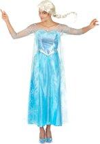 Disney Frozen Jurk - Prinses Elsa - Volwassenen - Verkleedkleding - Maat S