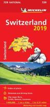 Switzerland 2019 - Michelin National Map 729