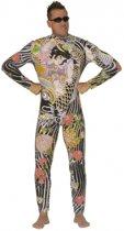 Tattoo kostuum voor heren 52 (l)