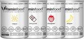 Vitaminfood® Original - Soylent - Maaltijdvervangers - 'Variety Pack-4 smaken' + SHAKER