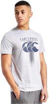 Canterbury shirt hoop herrington tee - pale grey marl - 2XL