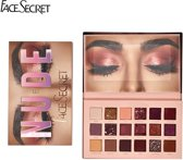 Face Secret ™ Nude Oogschaduw Palette - met Make Up Spiegel