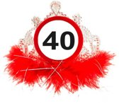 Diadeem 40 Jaar Verkeersbord