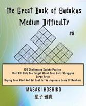 The Great Book of Sudokus - Medium Difficulty #8