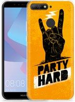 Huawei Y6 2018 Hoesje Party Hard 2.0