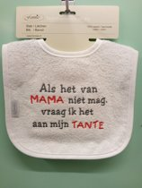 Slabbetje: Als het van mama niet mag, vraag ik het aan mijn tante