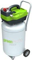 Greenworks Luchtcompressor elektrisch verticaal GAC50V 1100 W 4101907