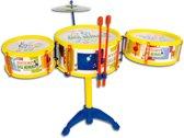 Drumset met Cymbalen