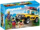 PLAYMOBIL Reddingswerkers met terreinwagen  - 9128