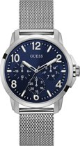 GUESS Watches -  W1040G1 -  horloge -  Mannen -  RVS - Zilverkleurig -  42  mm