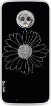 Casetastic Softcover Motorola Moto G6 - Daisy Black
